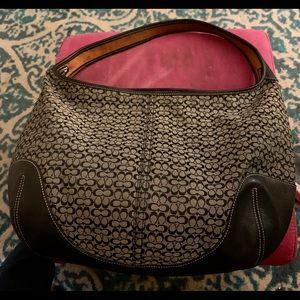 Vintage hobo slouch Coach bag